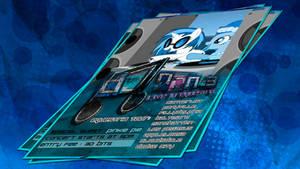 DJ Pon-3 - Equestria Tour Poster