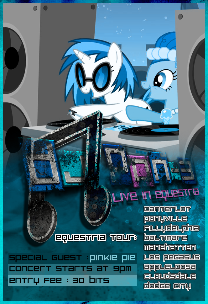 DJ Pon-3 - Poster by pims1978