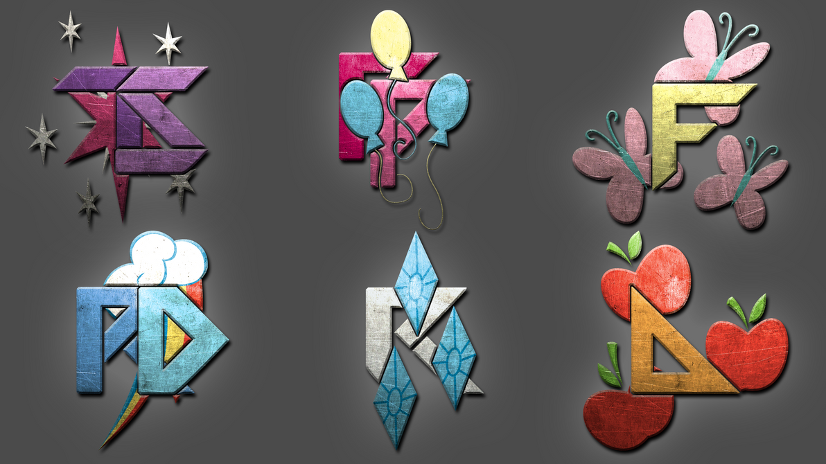 Mane6 - Logos by pims1978