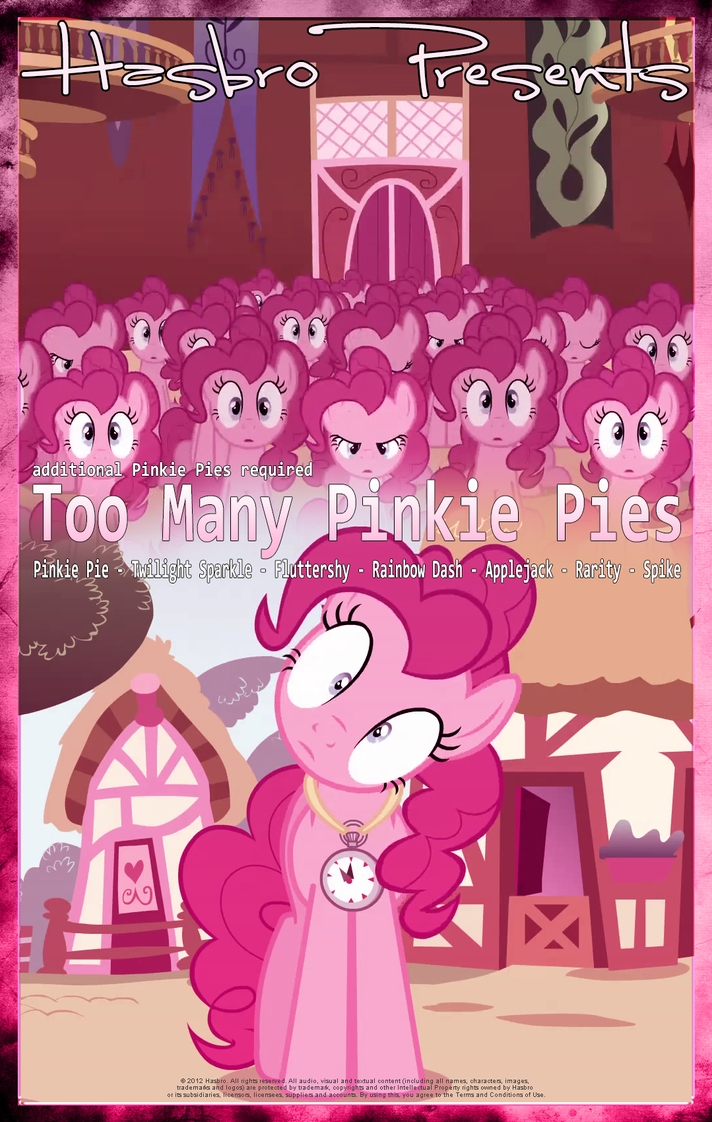 Fichas: Too Many Pinkie Pies Mlp___too_many_pinkie_pies___movie_poster_by_pims1978-d5lh0if