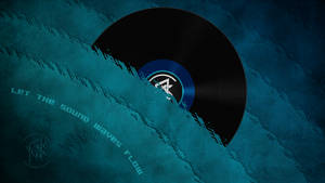 Djpon3 - Sound Waves Wallpaper