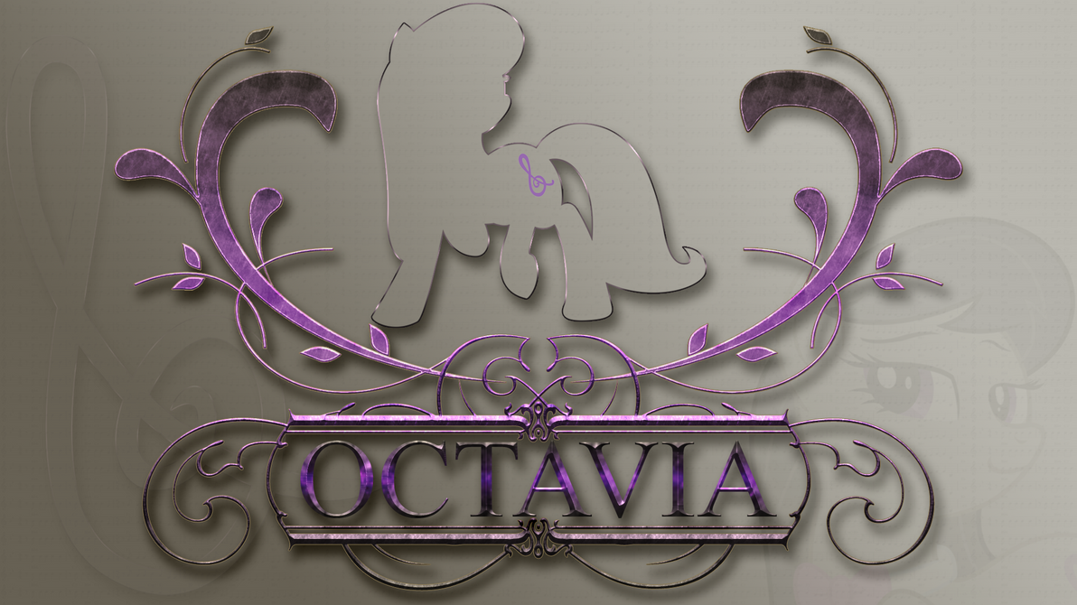 Wallpaper : Octavia - designed Logo by pims1978