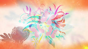 Wallpaper : Floral - fluttershy