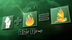 Wallpaper : Mix In The Fire