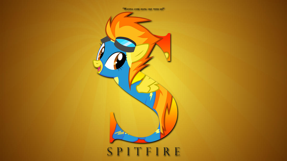 Wallpaper : Letters - Spitfire by pims1978