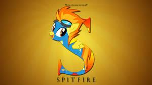 Wallpaper : Letters - Spitfire