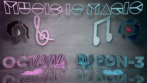 Wallpaper : Music Is Magic 3d