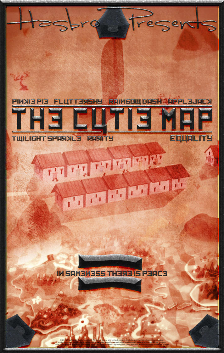 MLP : The Cutie Map - Movie Poster by pims1978