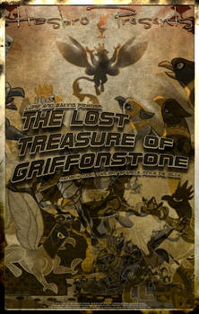 MLP The Lost Treasure of Griffonstone Movie Poster