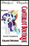 MLP : Canterlot Boutique Movie Poster