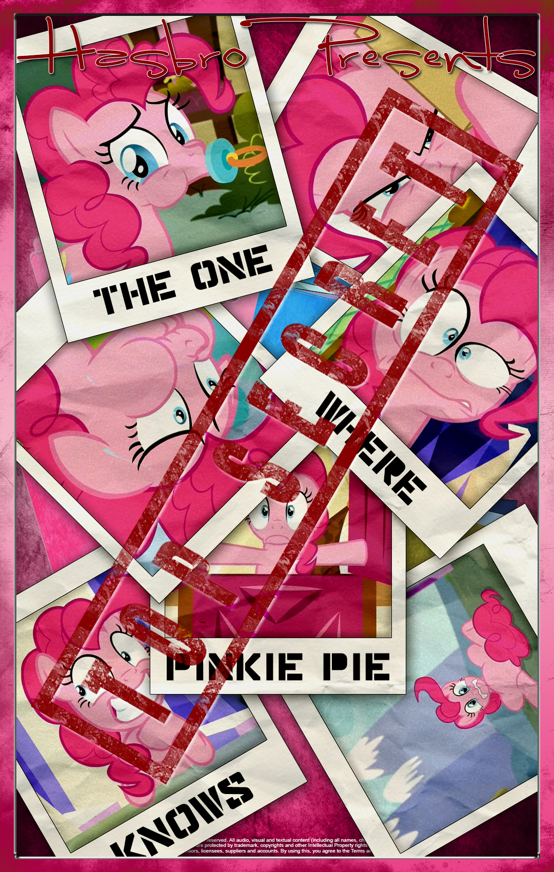 MLP : The One Where Pinkie Pie Knows Movie Poster