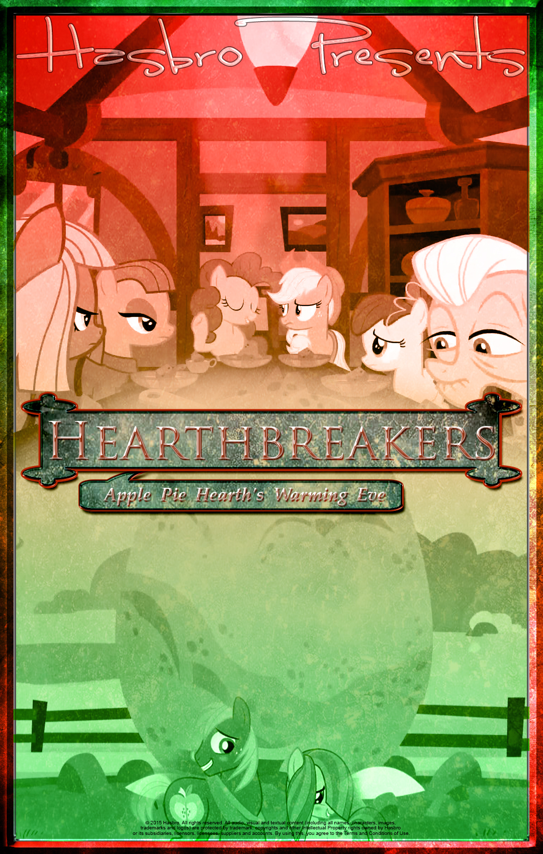 MLP : Hearthbreakers - Movie Poster