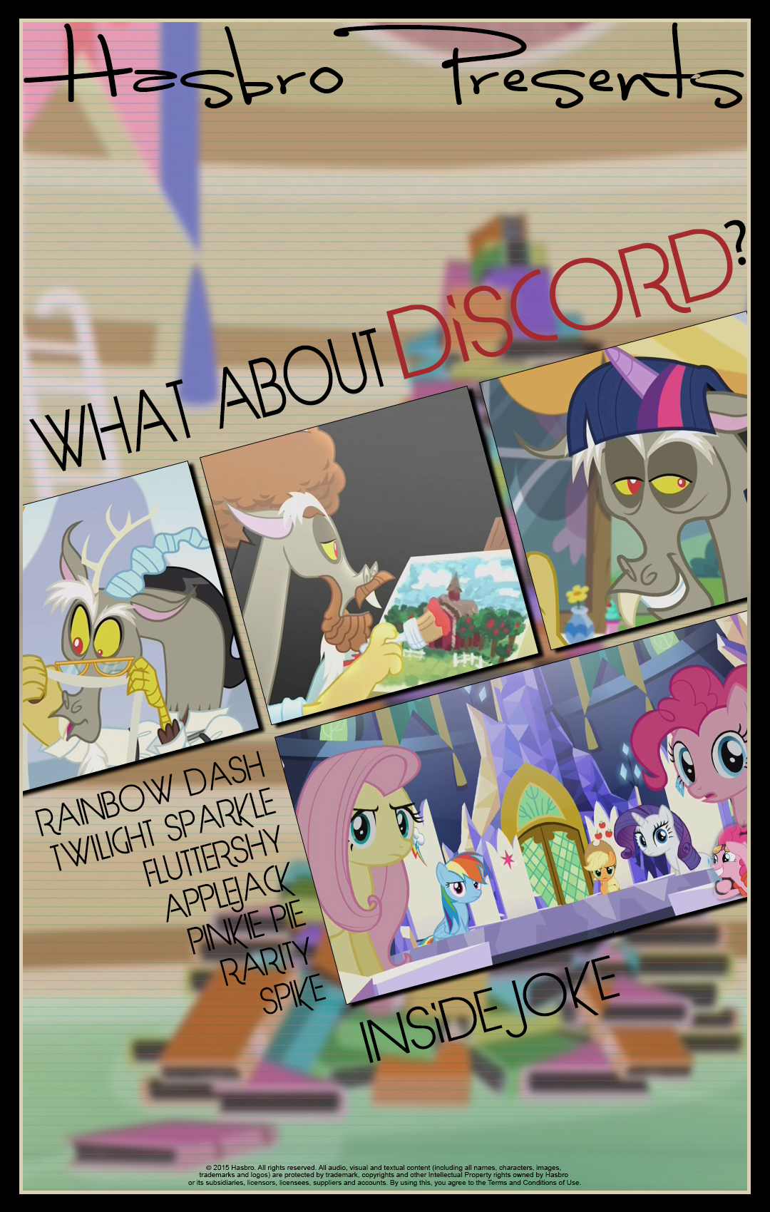 MLP : What About Discord - Movie Poster