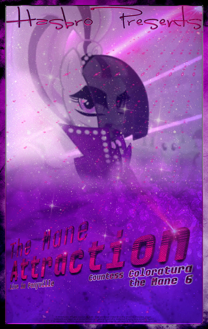 MLP : The Mane Attraction - Movie Poster by pims1978