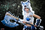 Frostwolf by IllumAdora