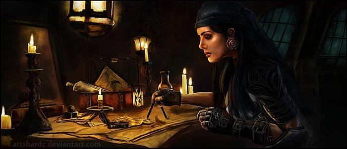 Dragon Age 2: Isabela by Artshardz