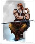 Dragon Age 2: Aveline by Artshardz