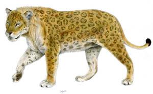 Paleo jaguar by Jagroar