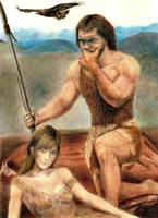 Prehistoric Hunter Gatherers by Jagroar