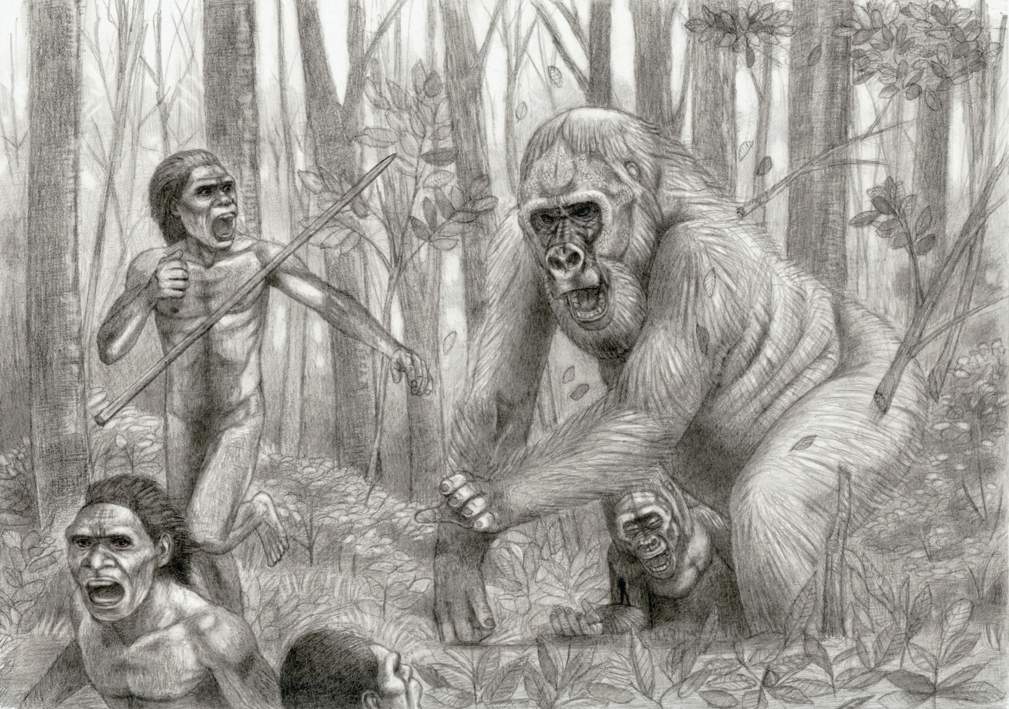 Prehistoric Safari : Revenge of Gigantopithecus