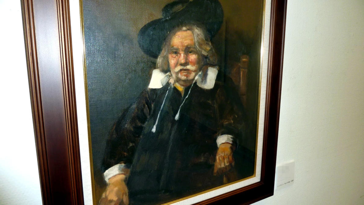 A copy of Rembrandt's 'Portrait of an Elderly Man' by Jagroar