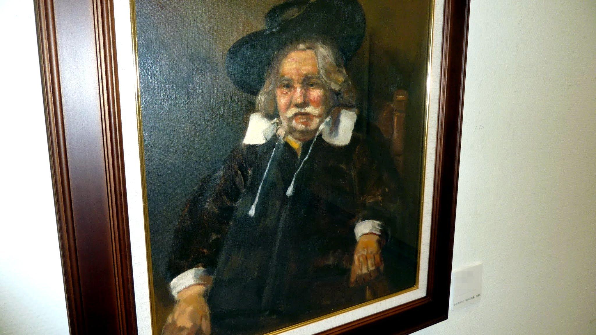 A copy of Rembrandt's 'Portrait of an Elderly Man' by Jagroar