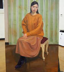 Figure oil painting (snapshot) by Jagroar