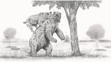 Prehistoric Safari : Giant Smilodon, the G.O.A.T. by Jagroar