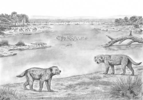 PrehistoricSafari: Gigantism in Neogene Mustelids
