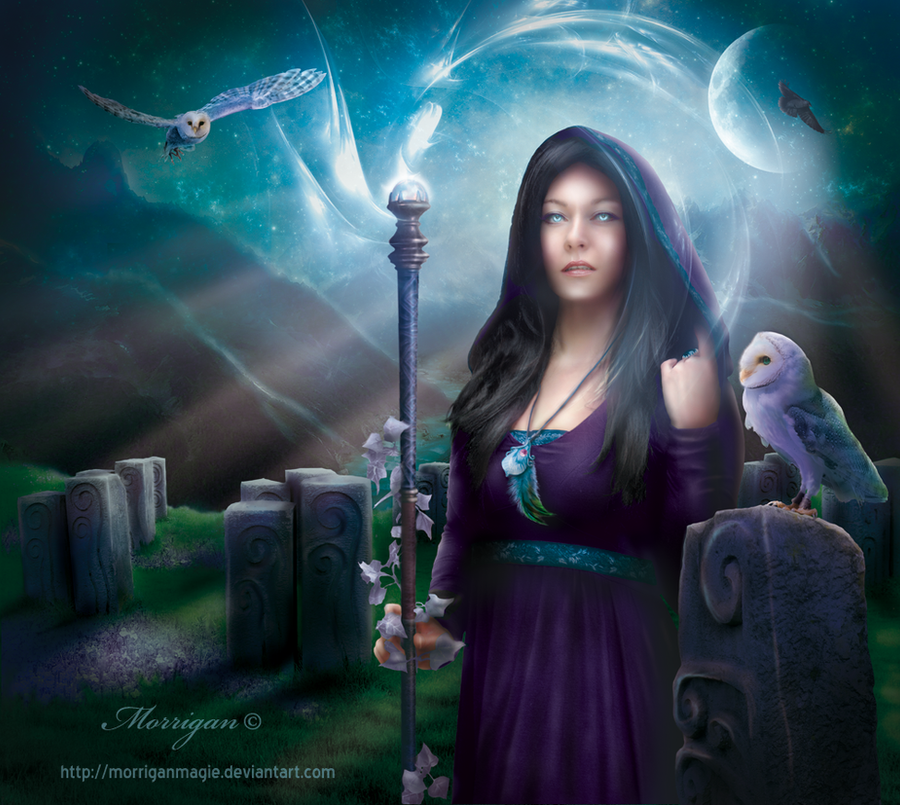 Celtic Witch by Morrigan-LE