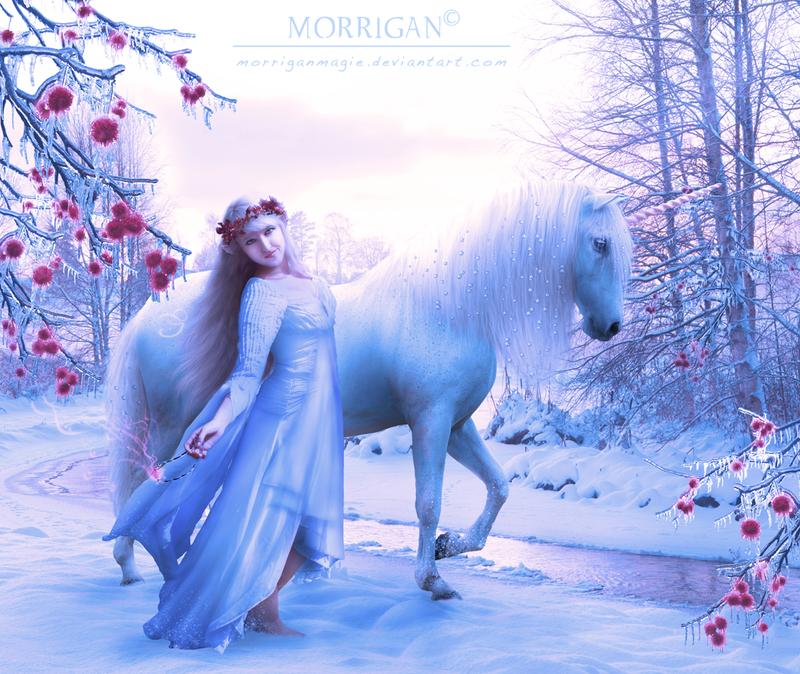 Winter elf by Snow-Ash