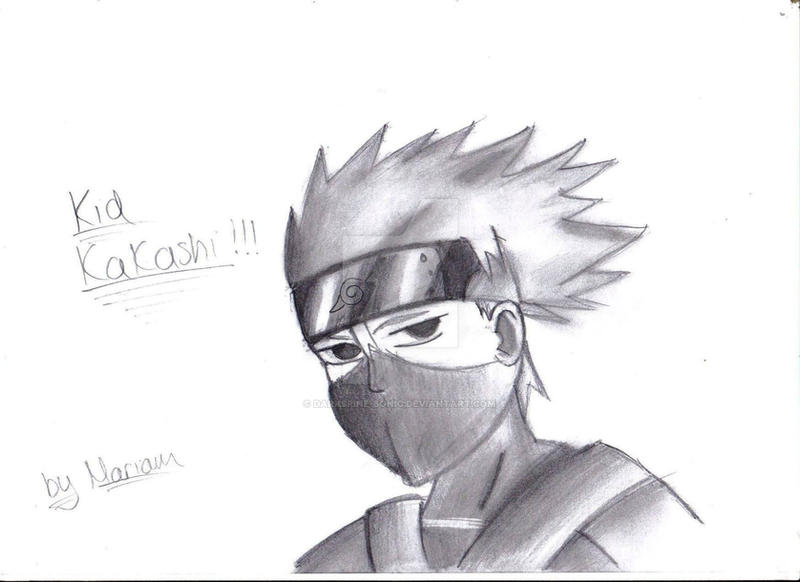 Kid Kakashi Drawing by...
