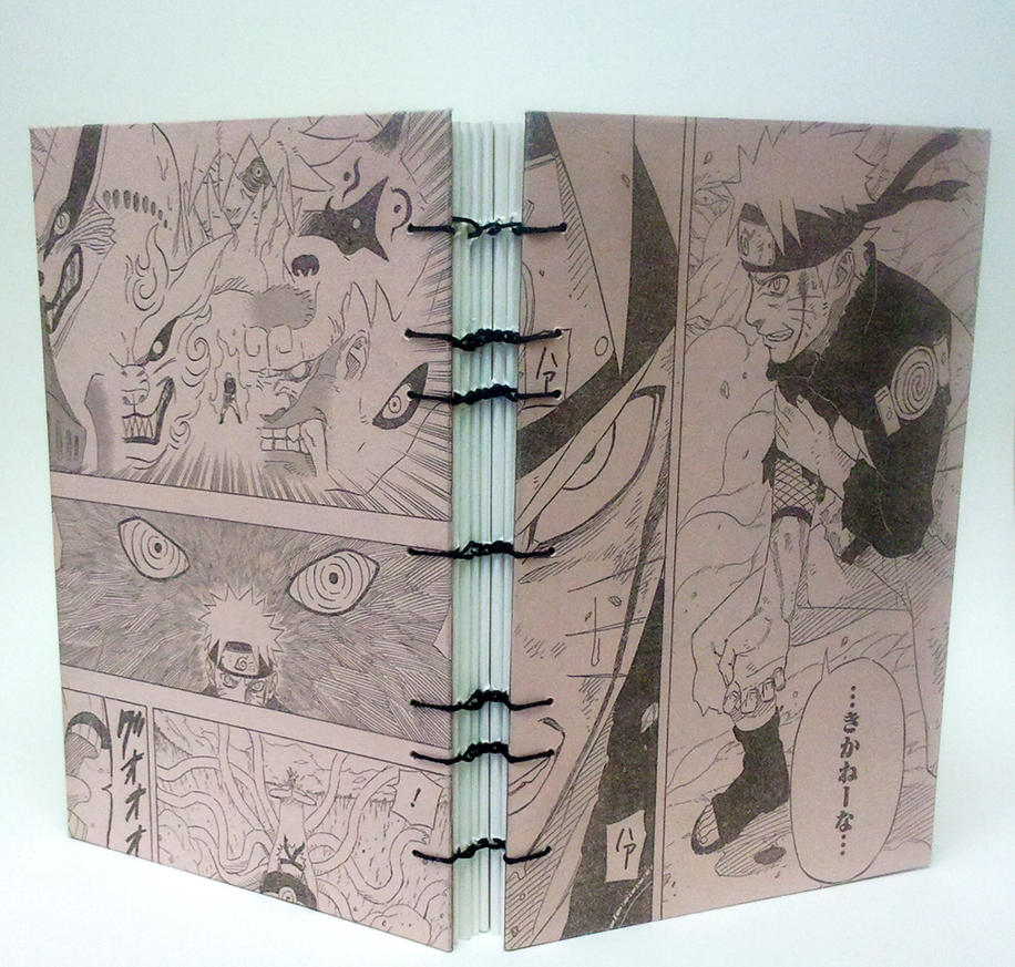 how to make a sketchbook from an old book