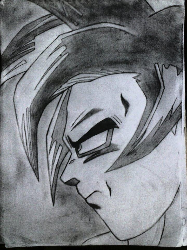 Goku By Coracao De Grafite On Deviantart
