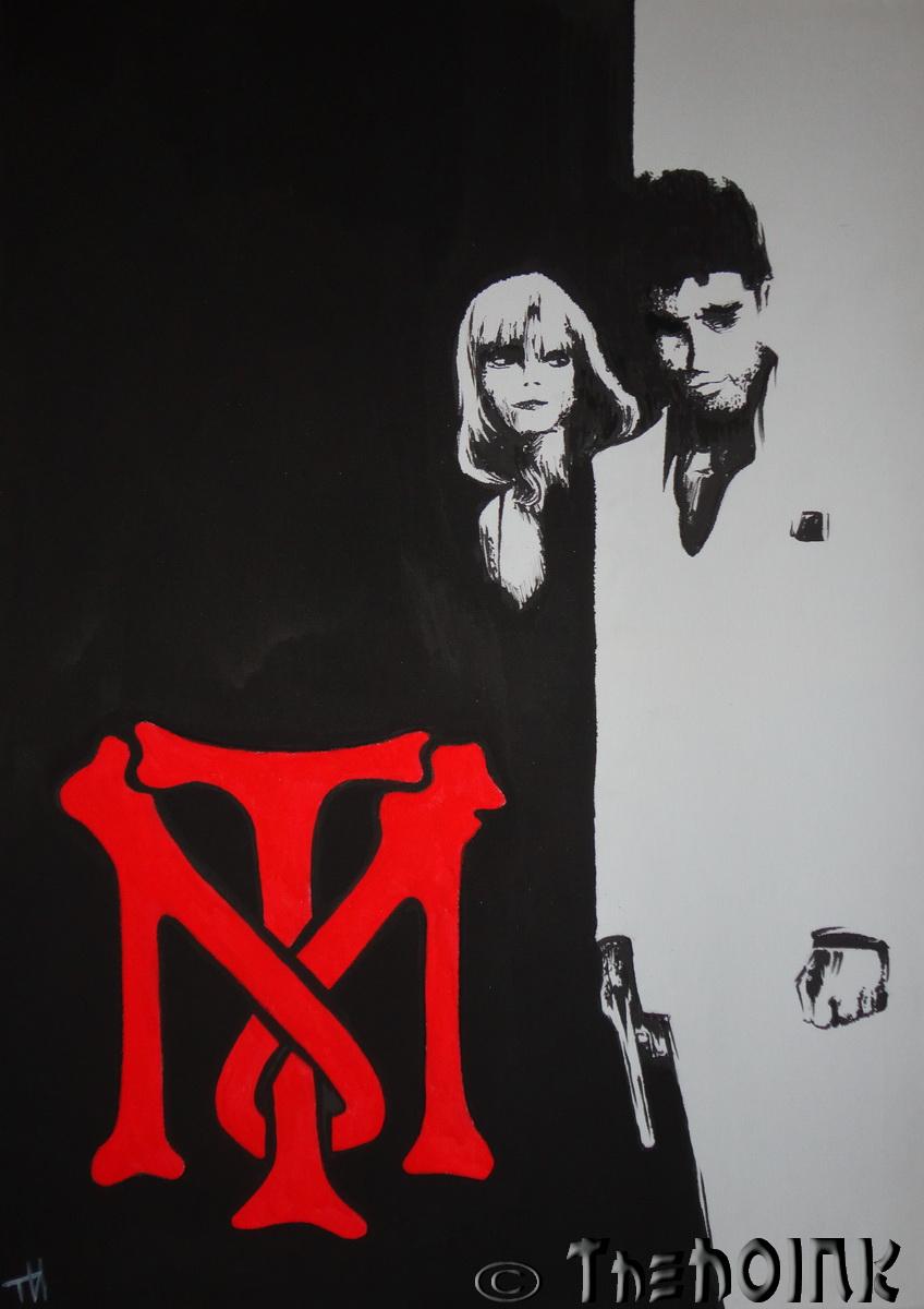 Tony Montana The Scarface By Thehoink On Deviantart