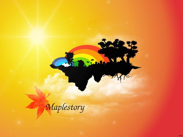 Maplestory Wallpaper by shadowroc