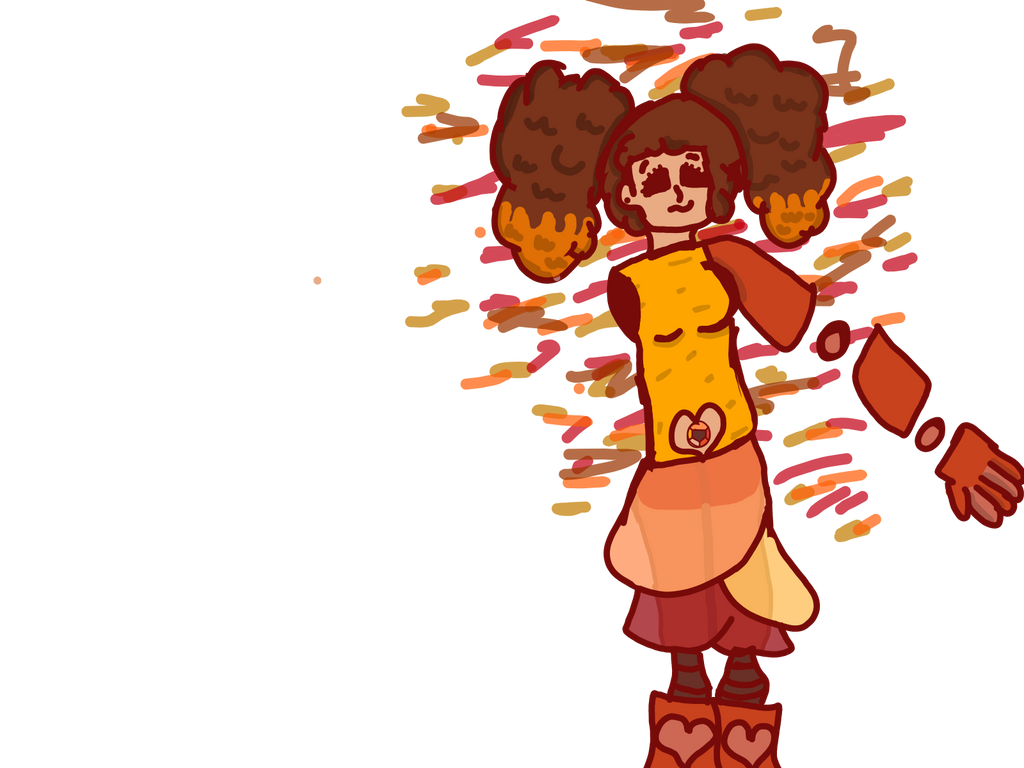 Steven universe OC/ Imperial Topaz by morningglory52