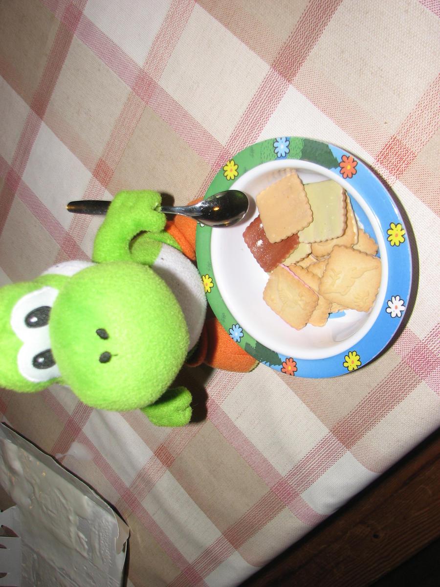 Yoshi's Cookies by WAFFLEKIRBY