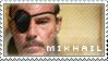 Mikhail Bakunin stamp by Kai-Ken