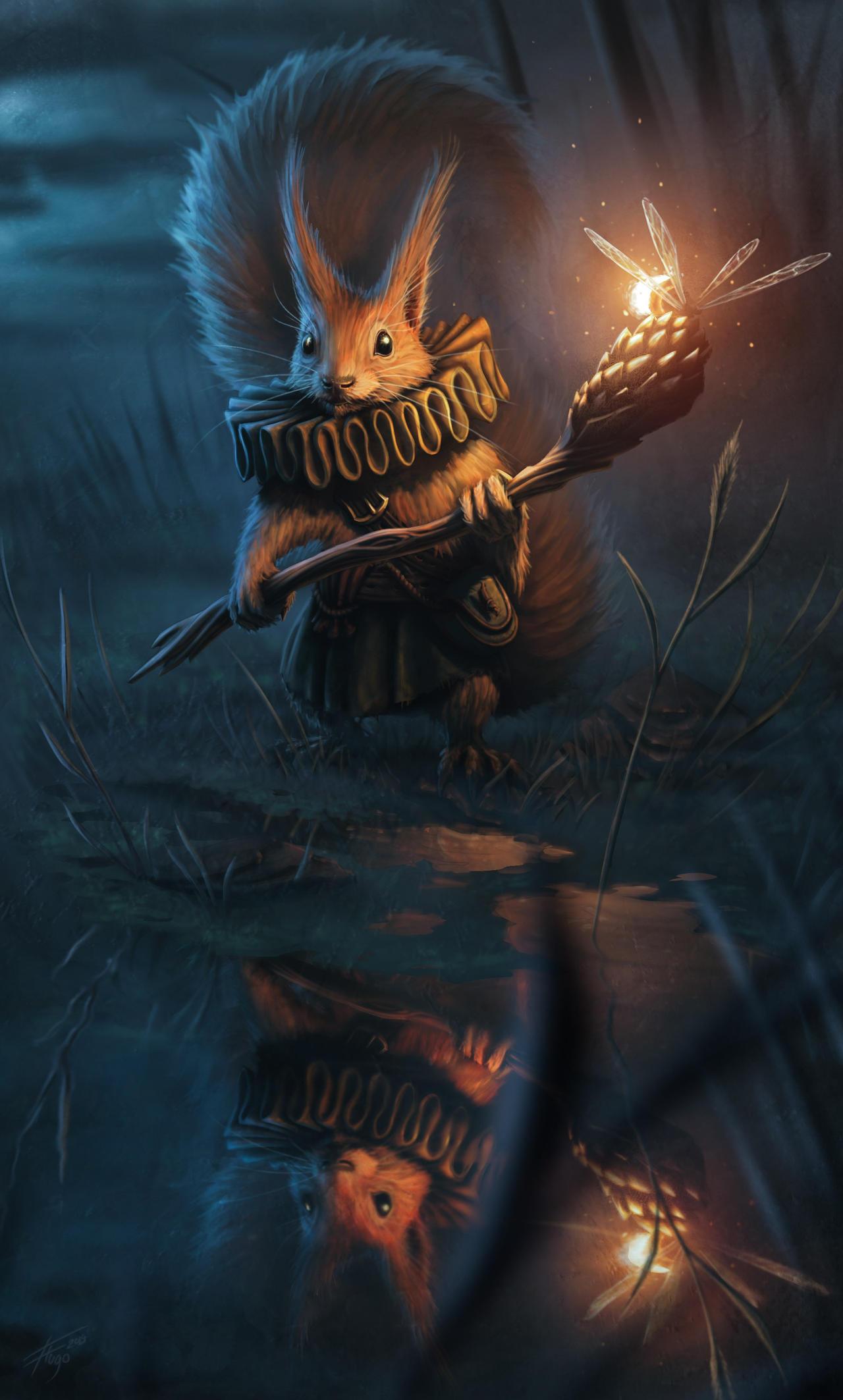 Scout Squirrel