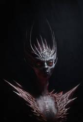 Vampire Lady Portrait