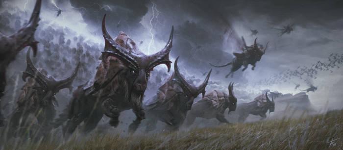 Thunder Coleoptera Bisons