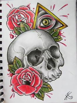 All Seeing Skull