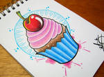 Cupcake Flash Design