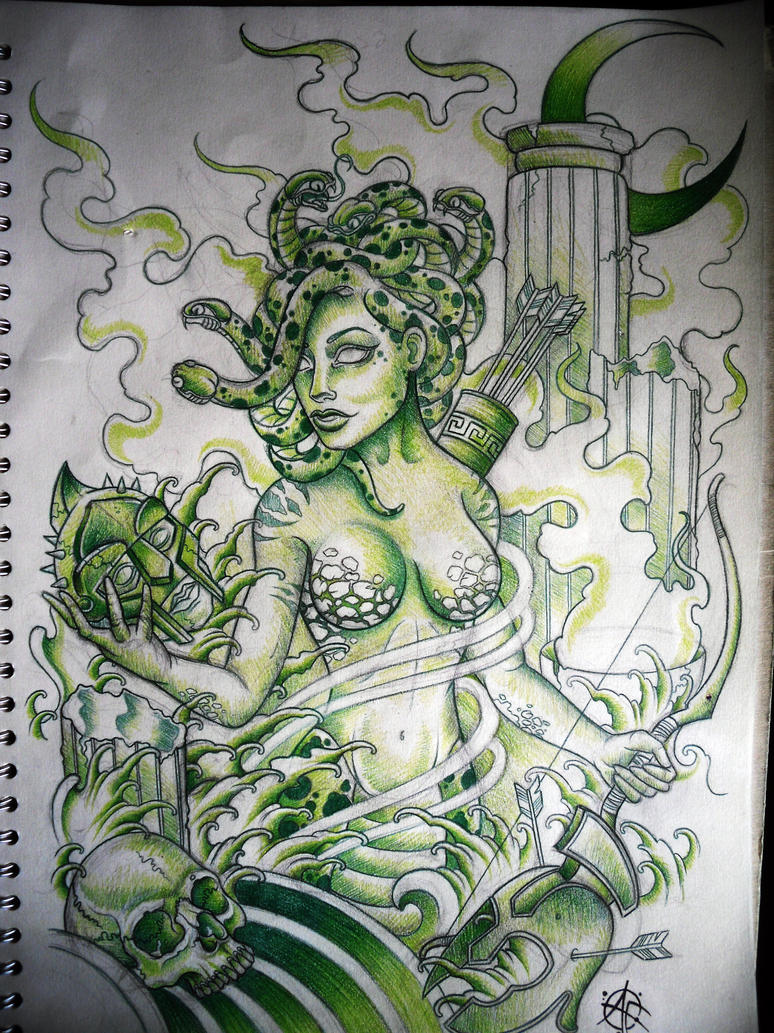 Medusa Design by Frosttattoo