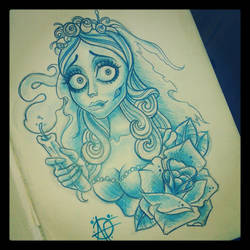 Corpse Bride by Frosttattoo