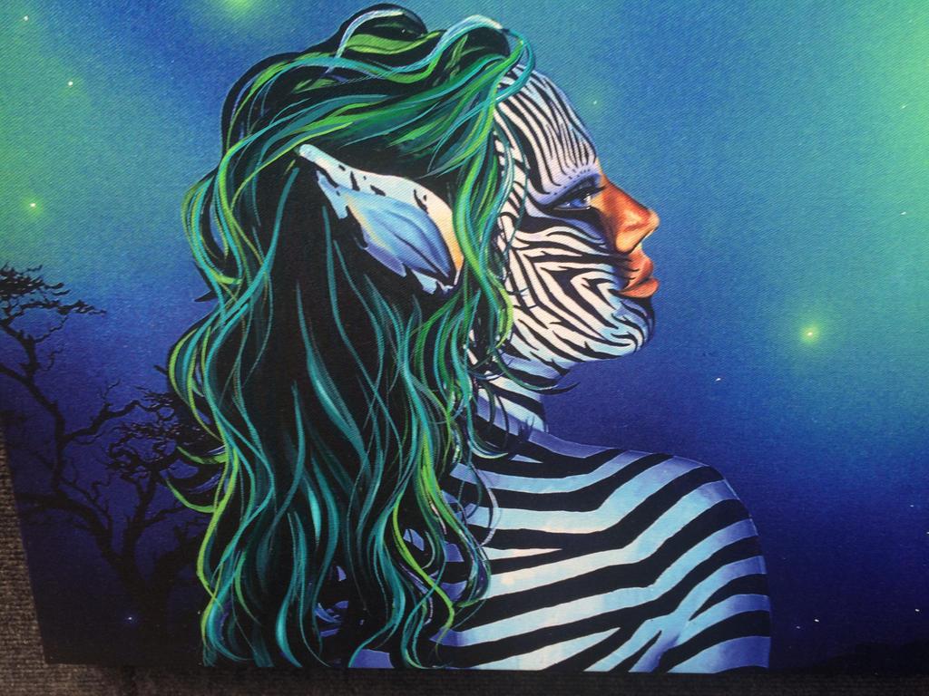 Human Zebra Female