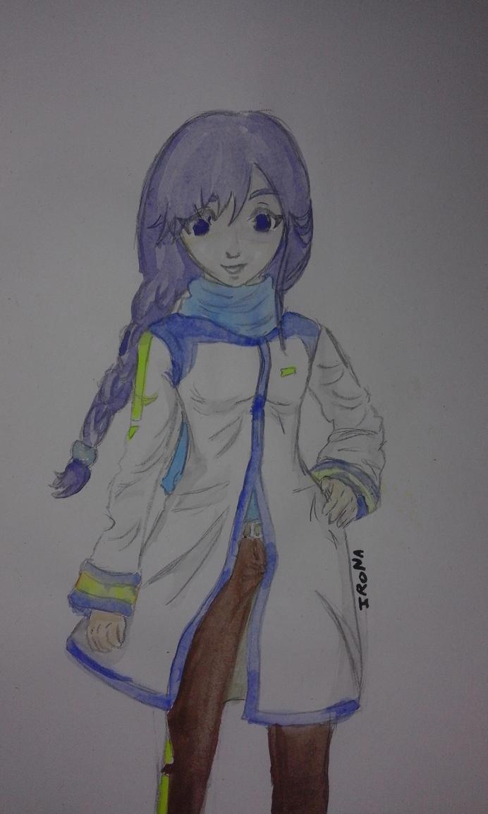 Alys crossover KAITO by IRONA-art