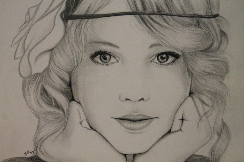 Taylor Swift (finished product) by Emma-lee1art