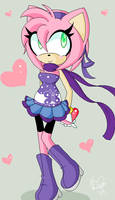 .:Amy in a cute outfit:.